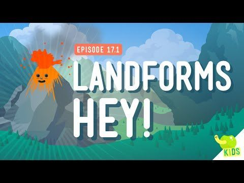 ▶ Landforms, Hey!: Crash Course Kids #17.1 - YouTube