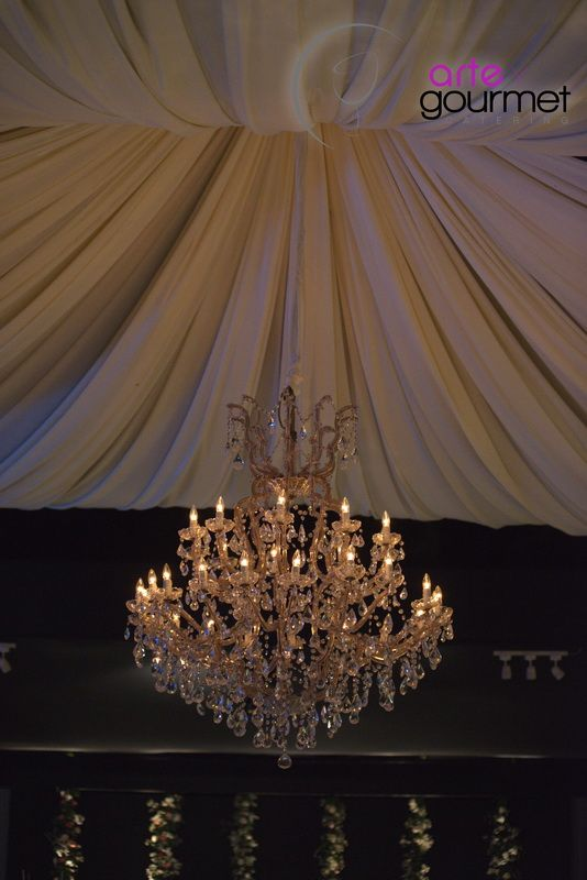 Imponente Lámpara de Cristal Modelo María Teresa