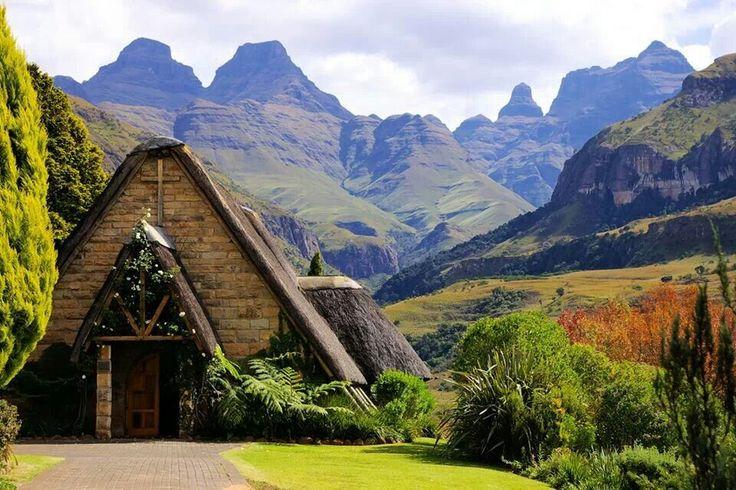 Cathedral Peak, Drakensberg, KwaZulu-Natal, South Africa