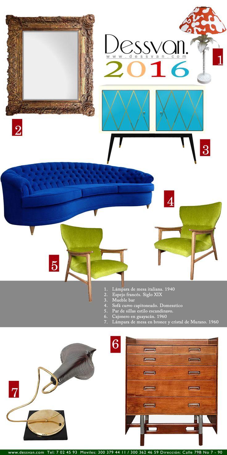 Dessvan recargados en el 2016! Dessvan www.dessvan.com Email: info@dessvan.com Cel./WhatsApp: 300 362 46 59 Calle 79B # 7-90, Bogotá, Colombia #dessvan #vintage #bogota #colombia #mueblesBogota #mobiliarioBogota #calleDeLosAnticuarios #Lamparas #lamparasBogota #antiguedadesBogota #DesignBogota #MidCenturyBogota #interiorismo #AsesoriaDecoracion #InterioresBogota
