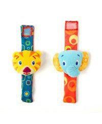 Bright Starts Bright Starts, Игрушки-погремушки на ручку Стильная пара браслетиков