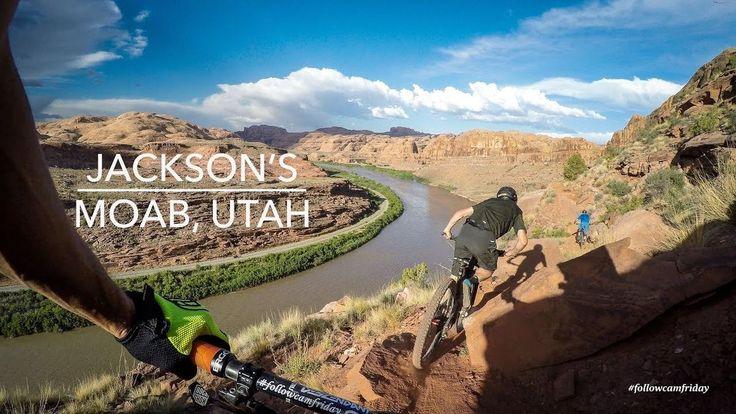 Jackson's Trail 2017   Moab, Utah MTB - VIDEO - http://mountain-bike-review.net/mountain-bikes/jacksons-trail-2017-moab-utah-mtb-video/ #mountainbike #mountain biking