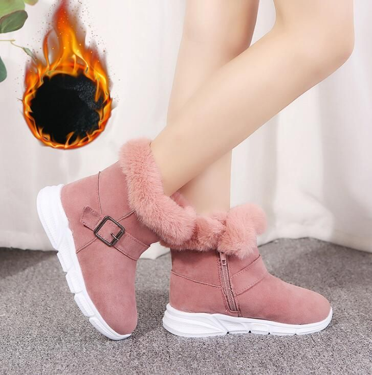 Girls Martin boots pink children's