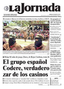 Reaparece el 'subcomandante Marcos' en un homenaje a líder zapatista asesinado — La Jornada