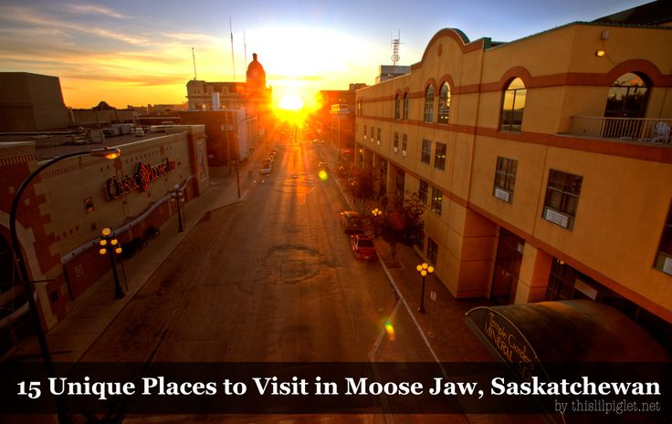 15 Unique Places to Visit in Moose Jaw, Saskatchewan for travel in Canada via @thislilpiglet