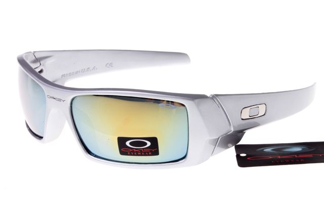 Oakley Crankcase Sunglasses White Frame Colorful Lens 0153