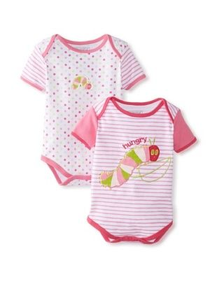 60% OFF The Very Hungry Caterpillar Baby Bodysuit 2-Pack (Pink)