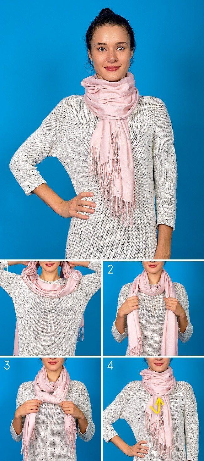 Мы подготовили для вас 8 основных способов повязывания шарфа, которые помогут выглядеть стильно и привлечь восхищенные взгляды окружающих.