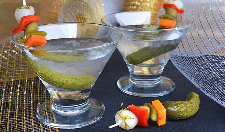 Pickled Vodka Tonic