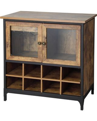 Better Homes and Gardens Better Homes and Gardens Rustic Country Wine Cabinet, Pine from Walmart | BHG.com Shop