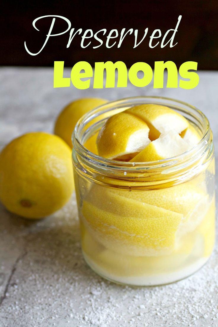 Preserved Lemons Recipe — Dishmaps