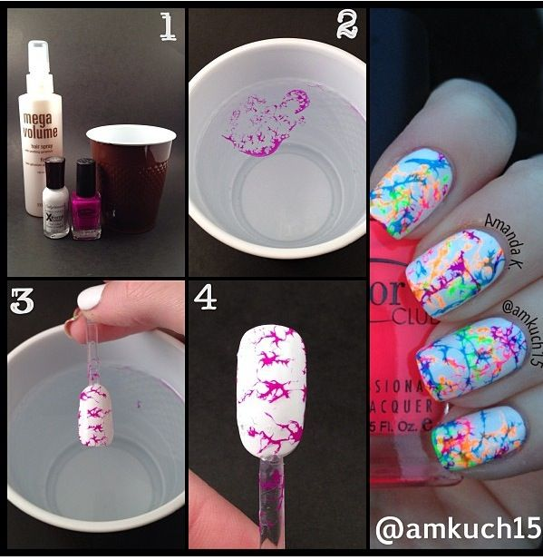 Marble Nail Polish Instructions: Best 20+ Nail Polish In Water Ideas On Pinterest