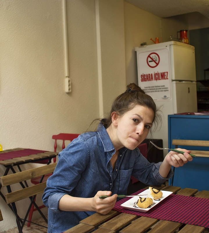 Zeze Cafe - Antalya cafeler . Dondurma keyfi...