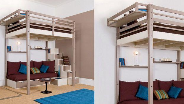 Oltre 20 migliori idee su soppalco camera da letto su - Arredare camera da letto fai da te ...