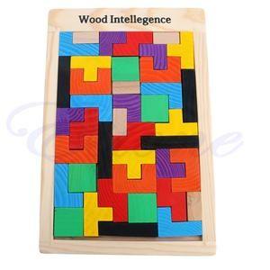 Wooden Tetris Logic Puzzle -FREE -$0.00