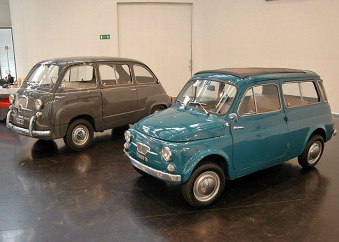 FIAT 600 Multipla&フィアット500 Giardiniera