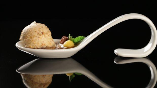 Tellersülze vom Räucheraal mit Pfifferlingmousse - The Taste - Sat.1