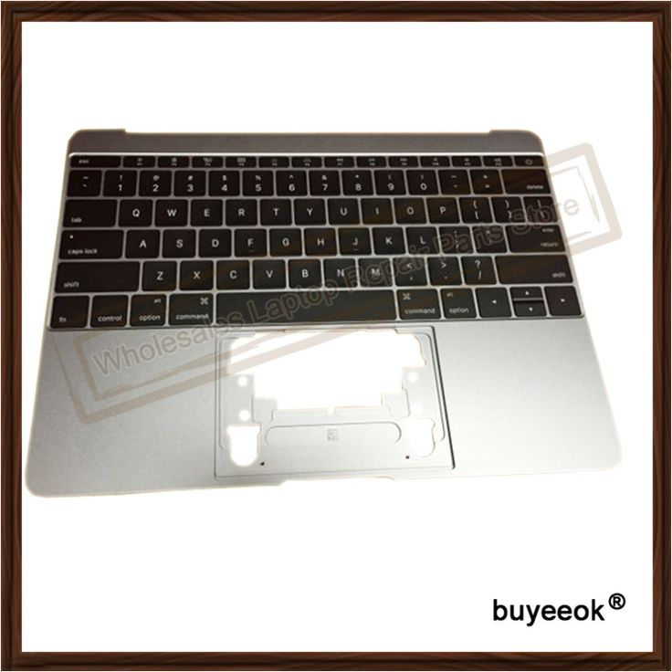 """Original A1534 Grey Top Case With US Keyboard for Macbook """"Core M"""" 12"""" A1534 Top Case US Layout MF865 topcase No Touchpad 2016"""