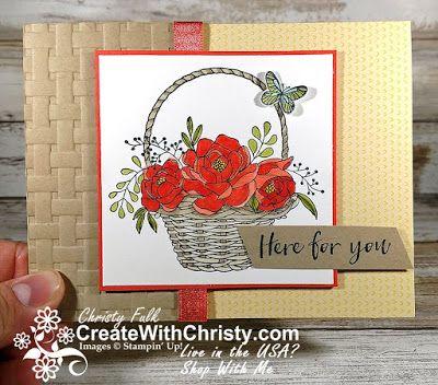 Christy Fulk, Stampin' Up! Demonstrator - Sharing my love of stamping