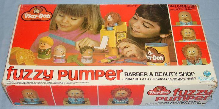 Play Doh Fuzzy Pumper Barber Shop