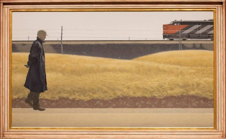 Alex Colville, Ocean Limited (1962) (Collection of the Art Gallery of Nova Scotia/©A.C. Fine Art Inc.)