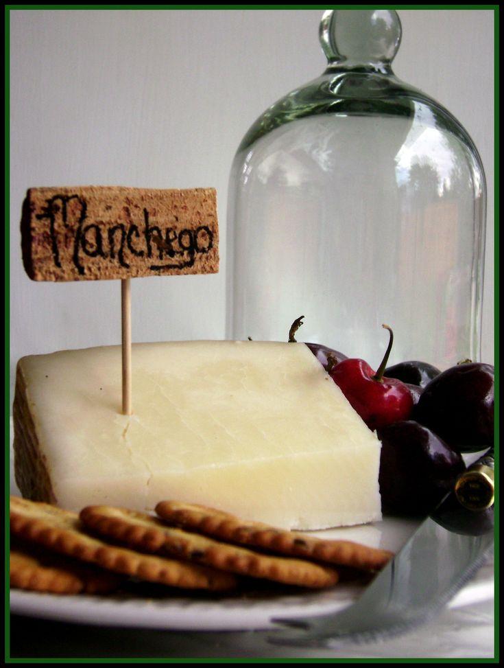 DIY Cork Cheese Marker