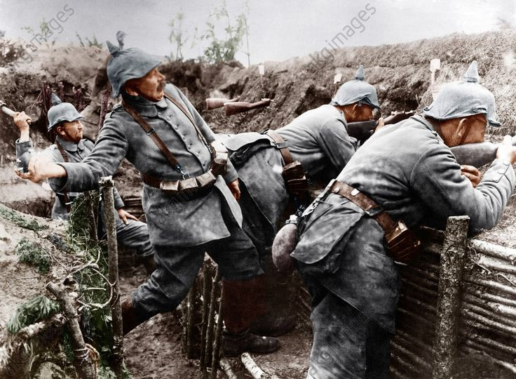 Image result for german soldiers ww1 with kugel grenade