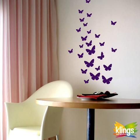 Vinilos Decorativos - MARIPOSAS. WALL STICKER DECOR