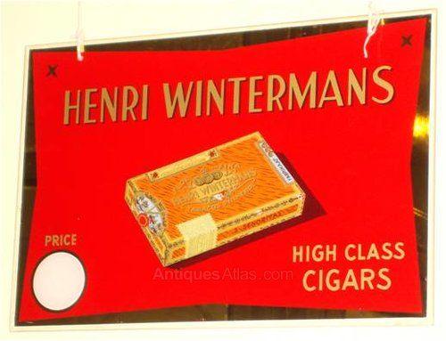 Antiques Atlas - A Henri Wintermans Shop Display Sign