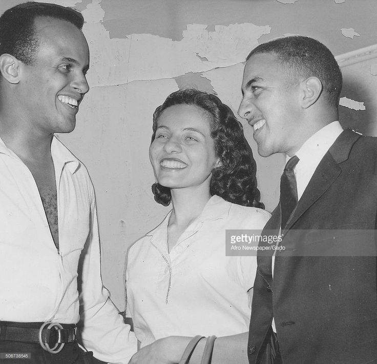 Musician and actor Harry Belafonte, Freedom Rider Diane Nash and Freedom Rider Charles Jones discussing the Freedom Riders movement, July 14, 1961.