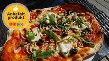 Aldri mer frossenpizza: Test av pizzastål - DinSide.no