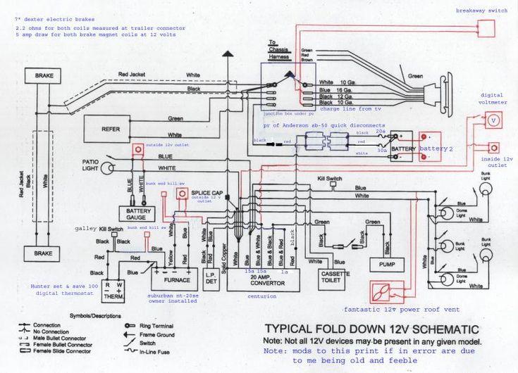 1995 coleman pop up wiring diagram