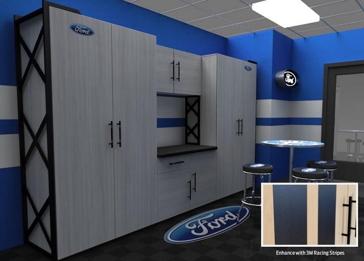 Premier Garage Cabinets #18: Ford Garage Cabinet By Premier Garage