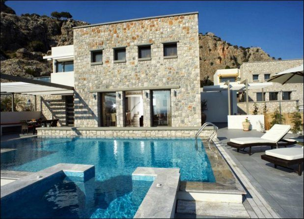 Charming Villa For Rent With Pool In Rhodes Http://www.rentvillasgr.com