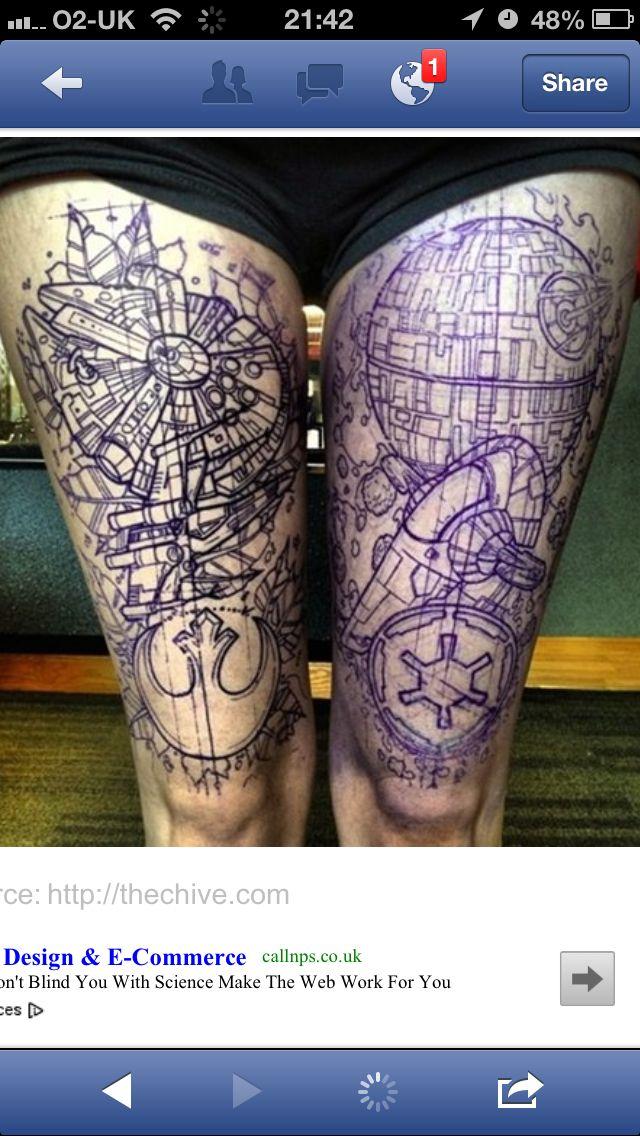 11 best epic tattoos images on pinterest tattoo ideas epic death star blueprint malvernweather Choice Image