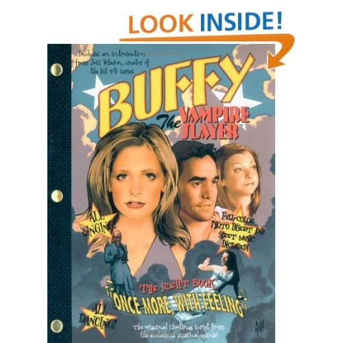 137 best clearly i need a separate board for buffy stuff images buffy the vampire slayer once more with feeling the script book fandeluxe Document