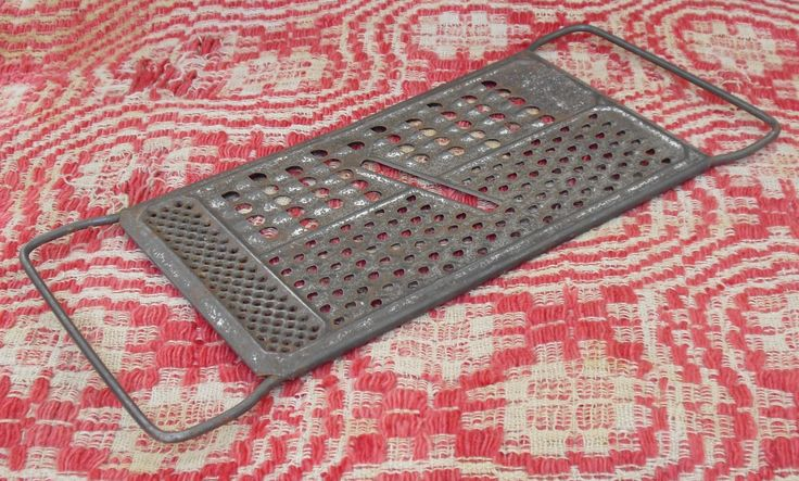 All In One Grater & Slicer, Kitchen Collectible, Rustic Kitchen Decor, 1950s Kitchen Utensil, Vintage Grater, Metal Grater, Old Metal Grater by AgsVintageCove on Etsy