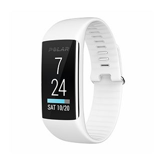 Polar A360 Fitness Tracker with Wrist-Based Heart Rate Monitor - Powder White 2,600 reward miles
