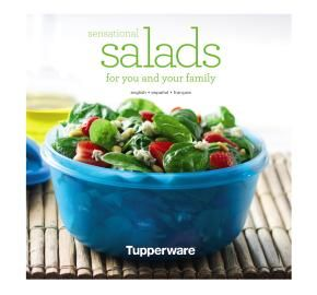 Tupperware | Sensational Salads Recipe Book  www.planotupperware.com