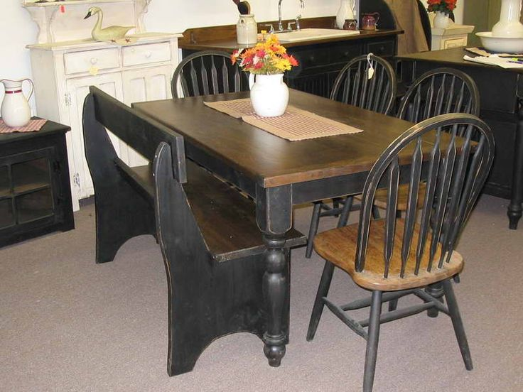 primitive kitchen ideas | Primitive Decorating Ideas for Kitchen With Dining Table