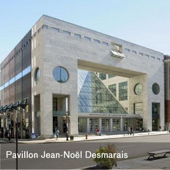 Pavillon Jean-Noël Desmarais, Musée des beaux-arts de Montréal
