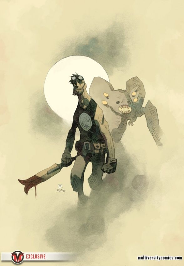 Mignolaversity reveals July's solicitations with an exclusive look at the upcoming B.P.R.D The Devil You Know.