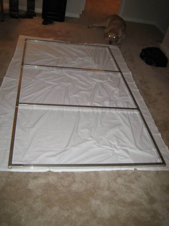 DIY home theater screen