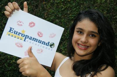 Concurso: Por tu Cara Bonita  Frase:El mejor regalo para mis XV años  Concursante:Ximena Sonderegger