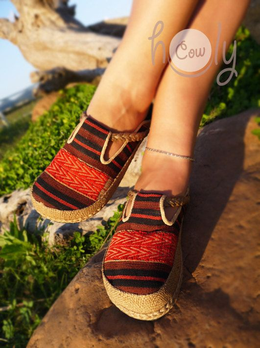 Tribal Women's Clogs Womens Clogs Ethnic Clogs by HolyCowproducts