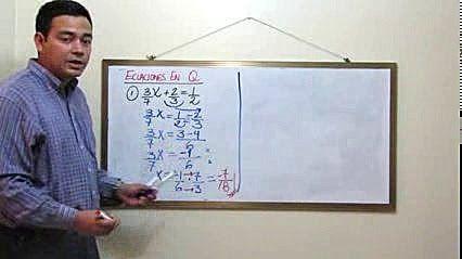 Como Despejar Ecuaciones en Q (Fracciones) Ejemplo y Ejercicio