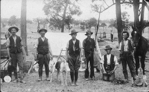Bendigo Goldfields, miners near St Arnaud. Life on the goldfields. Pioneering Familes of Australia