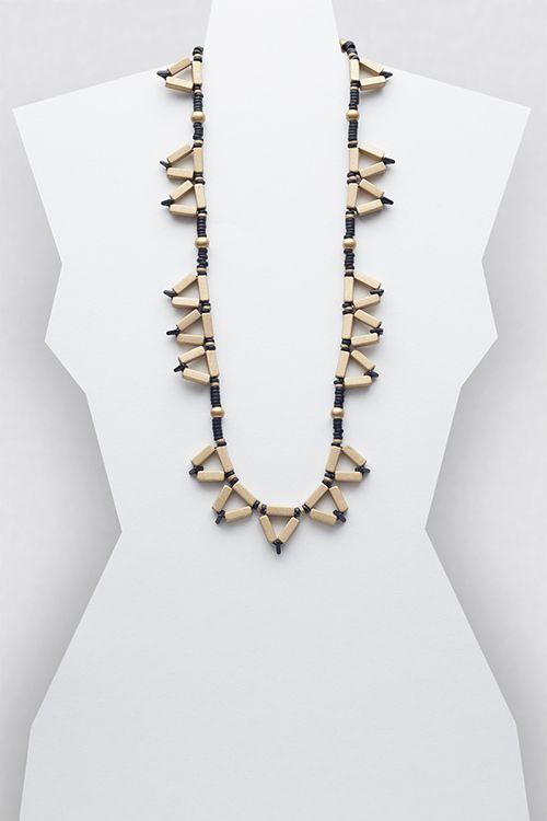 Lara Necklace #necklace #jewellery #jewelry #fashionaccessories #accessories #beadednecklace #ceramicbeads #ethnicstyle #bohostyle