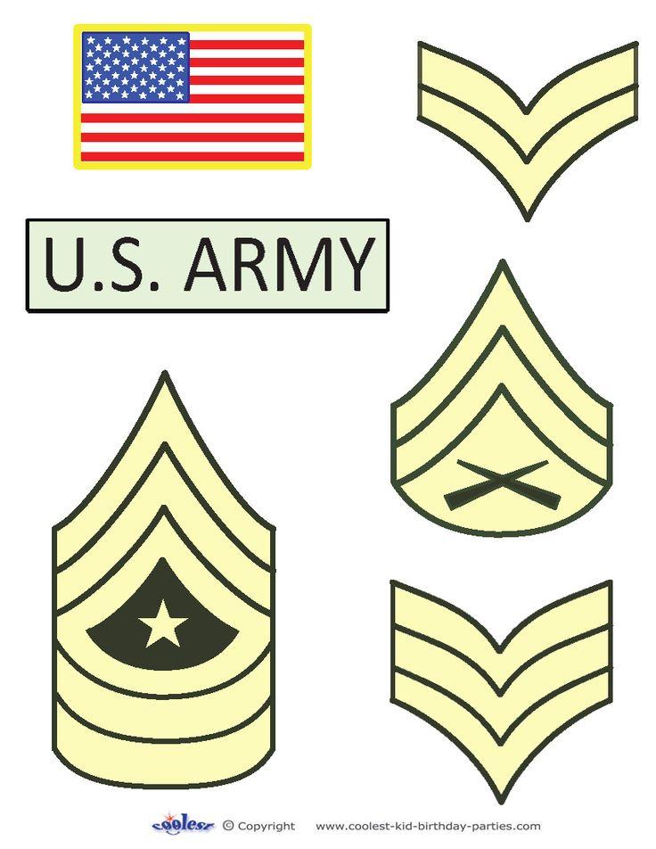 Printable Army Ranks Coolest Free Printables