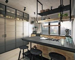 Kuchnia styl Industrialny - zdjęcie od razoo-architekci